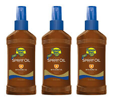 3 Banana Boat SPF 8 Tanning Spray Oil 8 OZ