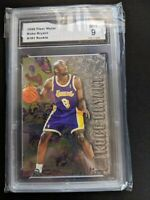 1996-97 Fleer Metal Kobe Bryant Rookie GMA 9 Mint RC #181 LA Lakers