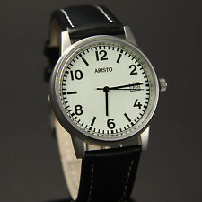 Aristo U-Boot barometro Made in Germany 3h27g Ronda movimento dell'orologio