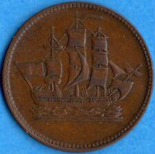 P.E.I. Ships Colonies & Commerce Colonial Canada Token Breton 997 PE-10-9
