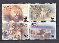 Ghana 2004 - MNH - Dieren / Animals (Leeuwen/Lions) WWF/WNF