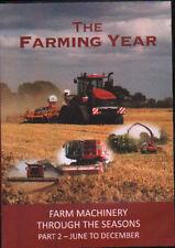 FARMING YEAR - Farm Machinery - Tractors - Harvest -  Part 2 - June to Dec - DVD