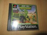 Army Men Lock N Load Playstation 1 Sony PS1  mint collectors pal