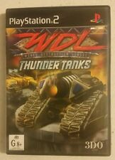 World Destruction League Thunder Tanks PS2 - PAL - FAST FREE POST! RARE!