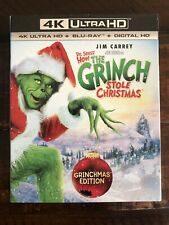 How the Grinch Stole Christmas (4K Ultra Hd Blu-ray, Blu Ray. No Digital 2000