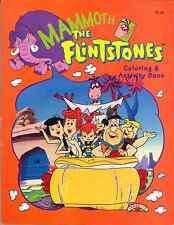 VINTAGE 1994 FLINTSTONES MAMMOOTH OP COLORING & ACTIVITY BOOK BY LANDOLL´S