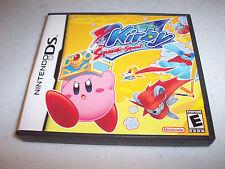 Kirby Squeak Squad Nintendo DS Lite DSi XL 3DS 2DS w/Case & Manual