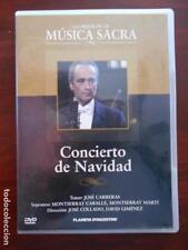 DVD CONCIERTO DE NAVIDAD - JOSE CARRERAS - MONTSERRAT CABALLE