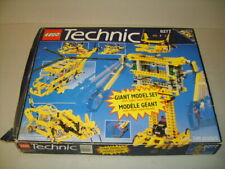 LEGO Technic Giant Model Set with Super Sized Robot 8277 Helicopter Box & Instru