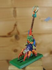 CLASSIC METAL FOREST GOBLIN SPIDER RIDER STANDARD BEARER PAINTED (1593)