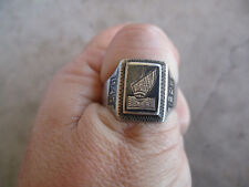 WWII 1945 Iran Middle East Theater Made Ring 9.5