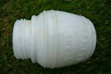 Armour & Company Chicago Luxor trade mark cold cream milk glass pot bottle