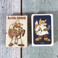 Vintage Basil Brush Card Game By Whitman 1978 1970s TV Show Very RARE Complete