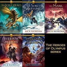 The Heroes of Olympus SERIES 1-5 BY Rick Riordan-AUDIOBOOK/MP3