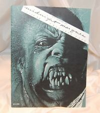 Midnight Marques Horror  Monster Magazine 1983 issue 32 20th anniversary Vintage