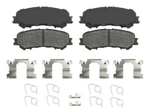 Disc Brake Pad Set-True Ceramic Brake Pads Rear IDEAL fits 17-19 Nissan Titan