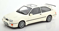 FORD SiERRA RS COSWORTH WHITE DIECAST MODEL NICE DETAIL 1:18 SCALE CLASSIC NOREV