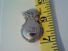 Obsolete U. S. Air Force Security Police Numbered Hat Pin 1 6/8""