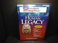 Holt Teacher's One Stop Planner World History Human Legacy CD ROM No Book B195