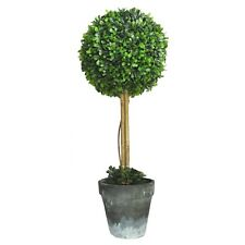 Artificial Bay Tree Topiary Ball with pot