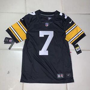 NEW Mens NIKE Pittsburg Steelers Ben Roethlisberger # 7 NFL Football Jersey $150