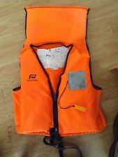 """PLASTIMO NORWEST 100 LIFE JACKET,MEDIUM,UP TO 40"""" CH,50 TO 70 KILOS,STRAP FAULTY"""