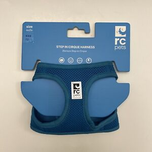 RC Pet Products Cirque Soft Walking Step In Dog Harness Teal - XX Small