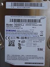 500GB Samsung HD501LJ | P/N: 401411CQB16280 | 2008.11  #536