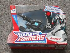 """ SHOCKWAVE ""  Voyager Class Hasbro Transformers Animated  Mint Sealed"