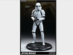 SIDESHOW IMPERIAL STORMTROOPER STAR WARS NOT HOT TOY PRODUCT ENTERPRISE BOXED 1