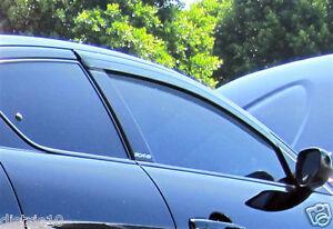 MAZDA RX-8 COUPE 2003-2012 WEATHER SHIELD WEATHERSHIELDS WINDOW VISOR GUARD