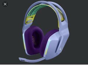 Logitech G733 Wireless Gaming Headset - lilac