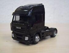 Rietze - Iveco Stralis 2007 Solo-Zugmaschine - schwarz - Nr. 60836 - 1:87