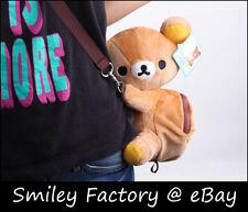 Child Baby San-X Rilakkuma Tote Pen Case Storage Bag Phone Bag Cosmetic Zip Bag