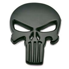 The Punisher Skull NEW 3D Metal Car Motorcycle Skeleton Badge Sticker Decal #B49