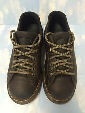 Dr Doc Martens Shoes AW004 Size UK 5 Brown, Women US 7