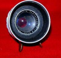 Astro-Berlin 50mm f1.8 Pan-Tachar  Lens Head  As Is Rear Element Missing