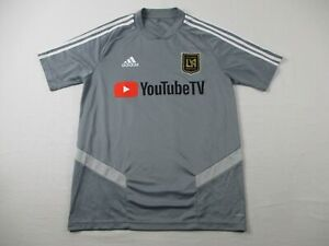 Los Angeles FC adidas Jersey Men's Gray Climacool Used Multiple Sizes