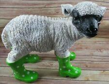 2er Set Solar Schaf LED Lamm Leuchte Außen Garten Veranda weiß Tier 0,06 Watt