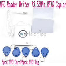 ACR122u NFC Reader&Writer RFID Copier Duplicator 13.56Mhz +5pcs UID Cards+Tags