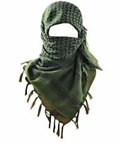 Acme Approved 100% Cotton Military Shemagh Tactical Desert Keffiyeh Head Neck Sc