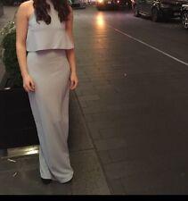 Size 8 Pale Blue Maxi Dress