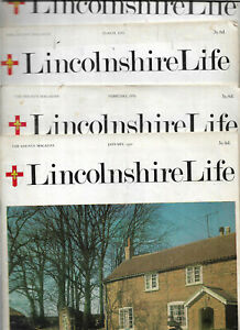Full Set 12 edns Lincolnshire Life Jan-Dec 1970 Local History people places etc