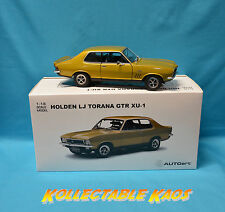 1:18 Biante - 1972 Holden - LJ Torana GTR XU1 - Sunburst Metallic - BRAND NEW
