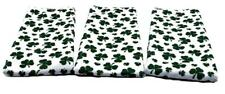 Shamrock 3pc Dish Towel Set For Bar, Kitchen, or Bath By Kelmart Free Shipping!!