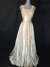 Marie Louise Bruyere Vintage Wedding Dress Formal Gown