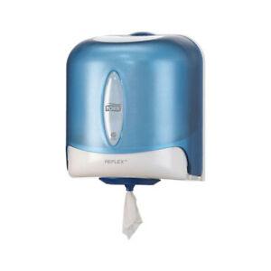 Tork Reflex Single Sheet Centre Feed Dispenser in Blue