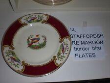 Staffordshire Myott  Chelsea Bird Dinner plate  Art  Deco 1930 signed Roberts