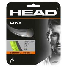 NEW Head LYNX  YELLOW 16 G Guage Tennis String 40 foot Pack forty ft Set