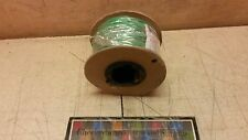 100' NOS Electrical Copper Stranded Wire TYPE GPT 14-awg Green 6145009504922
